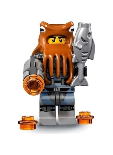 Lego Lego Minifigür - Ninjago Movie - 71019 - Shark Army Octoşus Renkli
